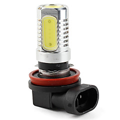 H11 High Power 6W 320LM 4-LED White Light Bulb for Car