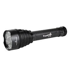 7 cree t6 ledleri ile TrustFire J18 8000 lümen feneri