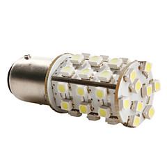 1157 3528 SMD 39-led 1.44w 156lm lâmpada de luz branca para o carro (12V DC) par-