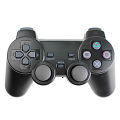 Mando Wireless con Vibración para PS3, PS2 y PC (2.4GHz, Negro)