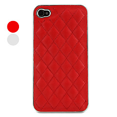 Simple Grid Pattern Case for iPhone 4 and 4S (Assorted Colors)