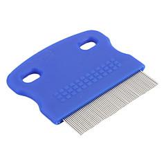 Mini peine aseo portátil para mascotas pequeñas (azul)