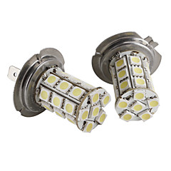 H7 27*5050 SMD White LED Car Signal Light