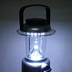 LED Lommelygter / Lanterner & Telt Lamper LED 1 Modus Lumens Glidesikkert Greb Andre AAA Camping/Vandring/Grotte Udforskning-Andre,Sort /