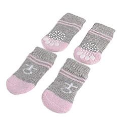 Perros Zapatos y Botas / Calcetines Gris Primavera/Otoño Algodón