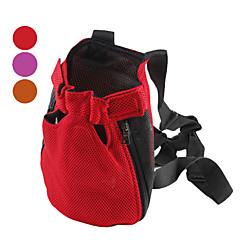 conforto cão malha gato pernas-out transportadora pacote para animais de estimação (sl, cores sortidas)