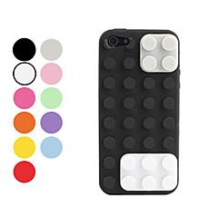 Case Suave para iPhone 5 - Tijolos (Várias Cores)