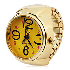 Women's Alloy Analog Quartz Ring Watches (Gold) Cool Watches Unique Watches