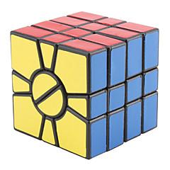 Qiji® Cube de vitesse lisse Alien Cubes magiques Noir PVC