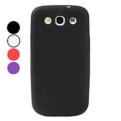 Enkel stil Mjuk väska till Samsung Galaxy S3 I9300 (blandade färger)