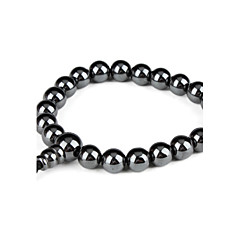 Fashionable Ball Shape Hematite Bracelet