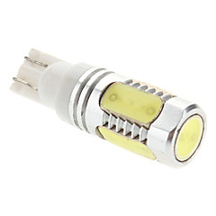T10 8W 450-500LM Natural White Light LED Lampe für Auto Instrument / Reading / Side Marker Lamp (12V)
