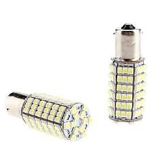 1156 5W 102x3528 Luz SMD Branco Lâmpada LED para a cauda do carro / Lâmpada Turn Signal (12V, 2-Pack)