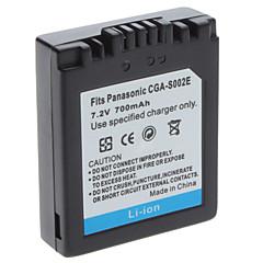 Vidéo Numérique Batterie Remplacement Panasonic CGA-S002 pour DMC-FZ1 & DMC-FZ10 et plus (7,2 V, 700 mAh)
