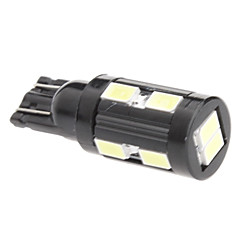 T10 5W 10x5730 SMD White Light LED-Lampe für Auto Signal-Lampe (12V)
