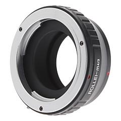 Rollei Lens to Micro 4/3 Four Thirds System Camera Mount Adapter for Olympus PEN E-P1 E-P2, Panasonic Lumix DMC-GF1, GH1, G1