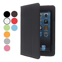 enkle design pu læderetui m / står for iPad Mini 3, iPad Mini 2, iPad Mini (assorterede farver)