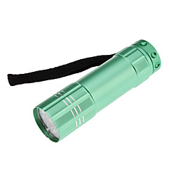Mini 1-Mode 9-LED Flashlight (3xAAA, Random Color)