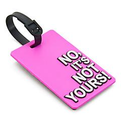 "GepäckanhängerForKoffer Accessoires Plastik 4.13""*2.56""*0.2""(10.5cm*6.5cm*0.5cm)"