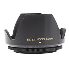Mennon 55mm Lens Hood for Digital Camera Objektiver 16mm +, Film linser 28mm +