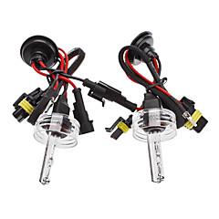 Xenon H10 HID Lamp Bulbs for Car Headlight (12V-55W, 2-Piece)