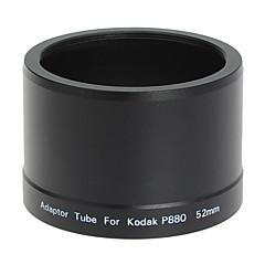 52mm lens en het filter Adapter Tube voor Kodak P880 digitale camera zwart