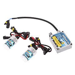 12V 35W 9006 HID Xenon Lamp Conversion Kit Set (Thick Ballast)