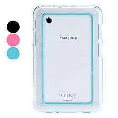 jednobarevné nárazník pouzdro pro Samsung Galaxy Tab2 7,0 p3100/p6200 (různé barvy)