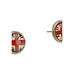 Women's The British Flag Pattern Earrings