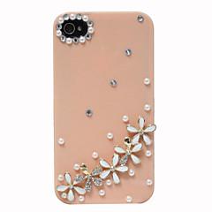 Zircon Cinq cas Daisy Motif dur pour l'iPhone 4/4S