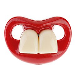 Joyful Baby Two Front Teeth Baby Schnuller mit roten Lippen