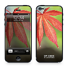 "Da Code ™ Skin for iPhone 5/5S: ""Maple Leaf"" (Plants Series)"