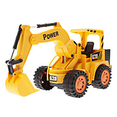 Liebaowang 5-Channel Excavator Truck Remote Control Simulation Engineering Vehicle with Light (Model:8037)
