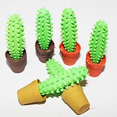 Cactus-Shaped Eraser (2PCS Random Color)