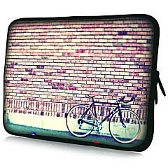 Housse pour PC Portable (11 - 15 Pouces), Motif Vélo