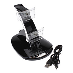 Dual GT USB lading dokk Stand for PS3-kontrolleren