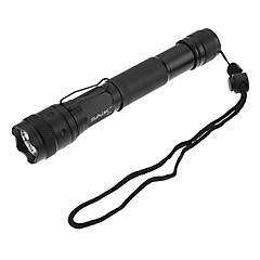 SA-15 3-Mode Cree XR-E Q5 LED Flashlight Set avec chargeur de batterie (200LM, 1x16340, 2xAA)