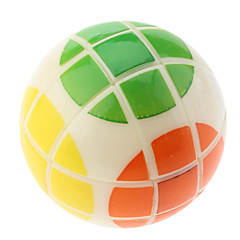 Balle forme de cube magique avec six couleurs différentes