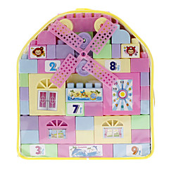 DIY Hus Stil Building Block med Bag (69pcs)
