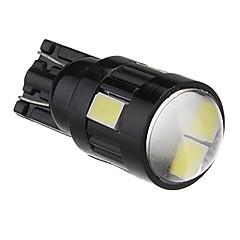 T10 2W 6x5730SMD White Light LED Bulb for Car Lamp (DC 12V)