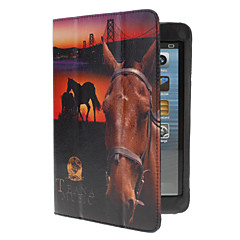 Wild Horse PU Leather Case w/ Stand & Card Slot for iPad mini 3, iPad mini 2, iPad mini