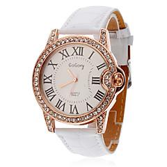여성의 시계 디아 만 테는 로마 숫자 다이얼