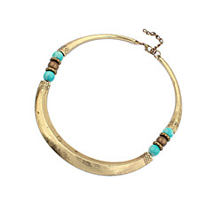 Necklace Choker Necklaces / Vintage Necklaces Jewelry Party / Daily Fashion Alloy Coppery 1pc Gift