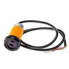 Interruttore del sensore a infrarossi IR con anelli fissi - Arancio + Nero