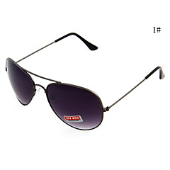 UV400 en métal Full Pilot Sunglasses Frame de l'homme (couleurs assorties)