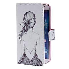 Sexy Back mønster Full Body Case med Stand og Card Slot til Samsung Galaxy S4 I9500