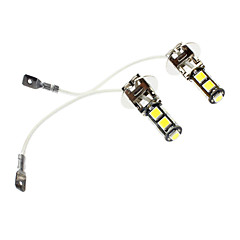H3 4W 9x5060SMD 360-380LM LED White Light Car Fog Lamp (DC 12V, 1-Pair)