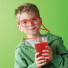 reka bentuk sesuatu yang baru cermin mata jerami lembut minum tiub