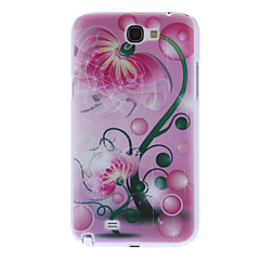 Flower Pattern Hard Case for Samsung Galaxy Note 2 N7100