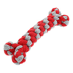Dog Toy Pet Toys Chew Toy Teeth Cleaning Toy Rope Woven Textile